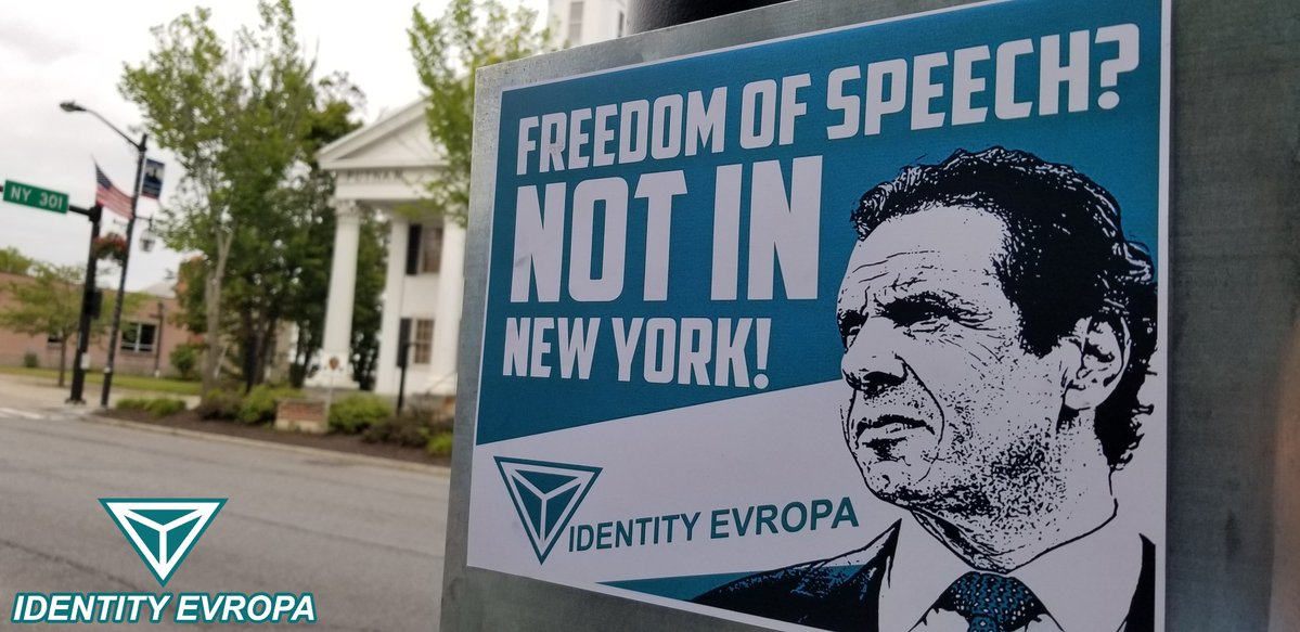 Freedom Of Speech? Not in New York! – Responding to Governor Cuomo